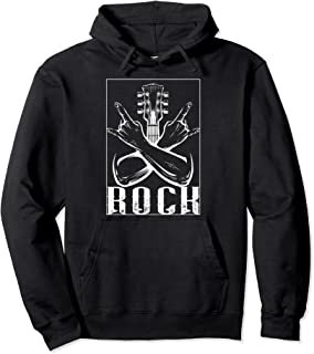 Teufelsfelsen   Punk Hard Rock   Heavy Metal Sweat à Capuche