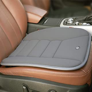 RaoRanDang Car Seat Cushion Pad for Car Driver Seat Office Chair Home Use Memory Foam Seat Cushion, Grey