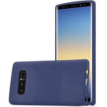 Cadorabo Funda para Samsung Galaxy Note 8 en Frost Azul Oscuro ...