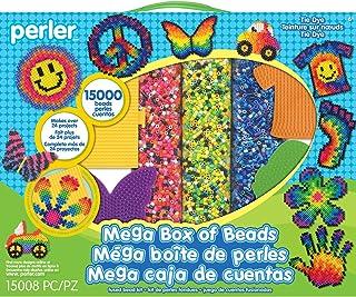 Perler Beads Tie Dye Mega Activity Kit, 15000 pcs