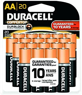 Office Realm Duracell MN2400BKD CopperTop Alkaline Batteries 144//CT AAA