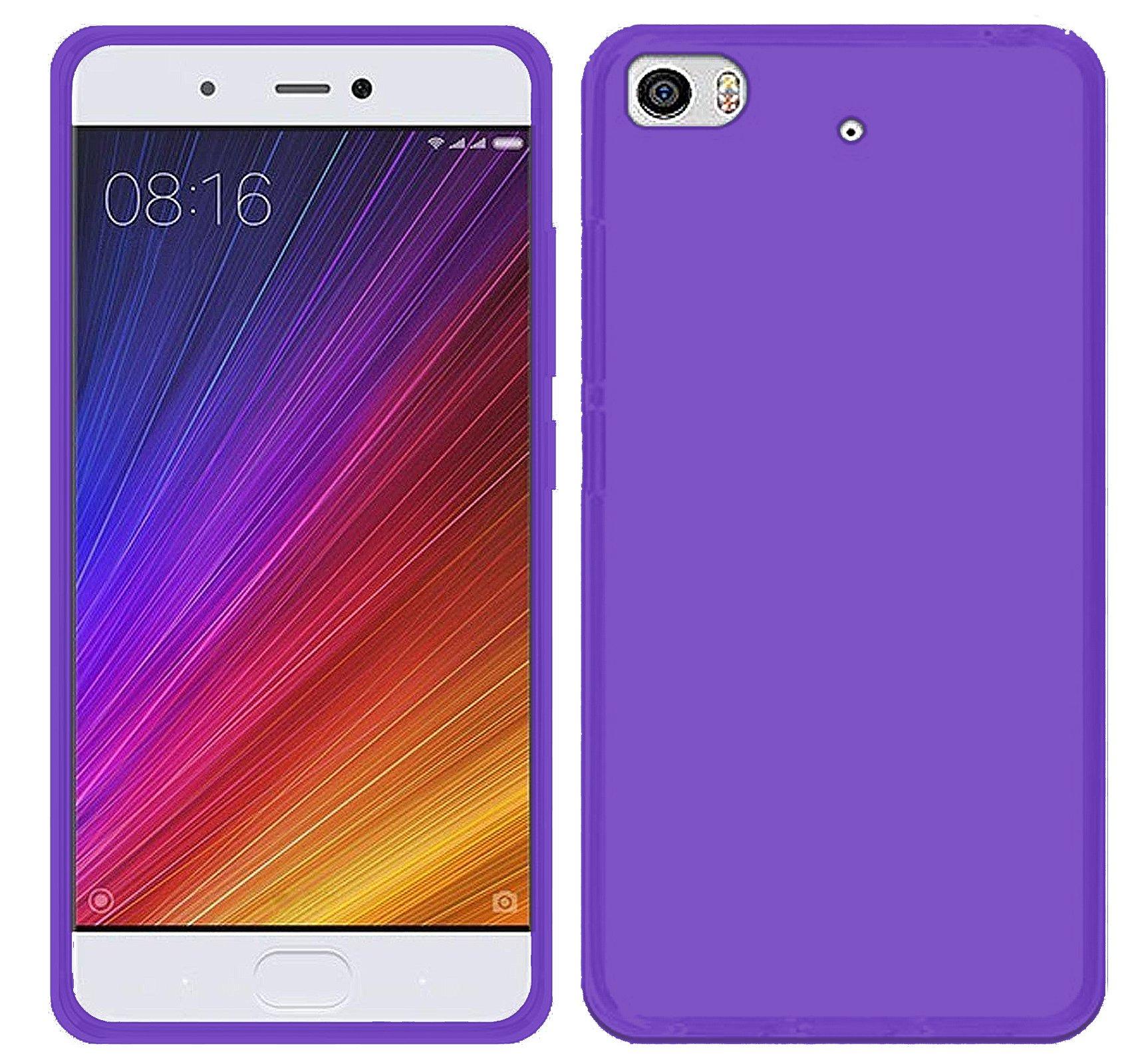 TBOC® Funda de Gel TPU Morada para Xiaomi Mi 5s: Amazon.es ...