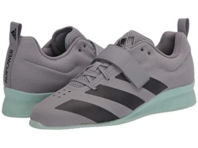 adidas Adipower Weightlifting II (Grey Three/Core Black/Green Tint) Men