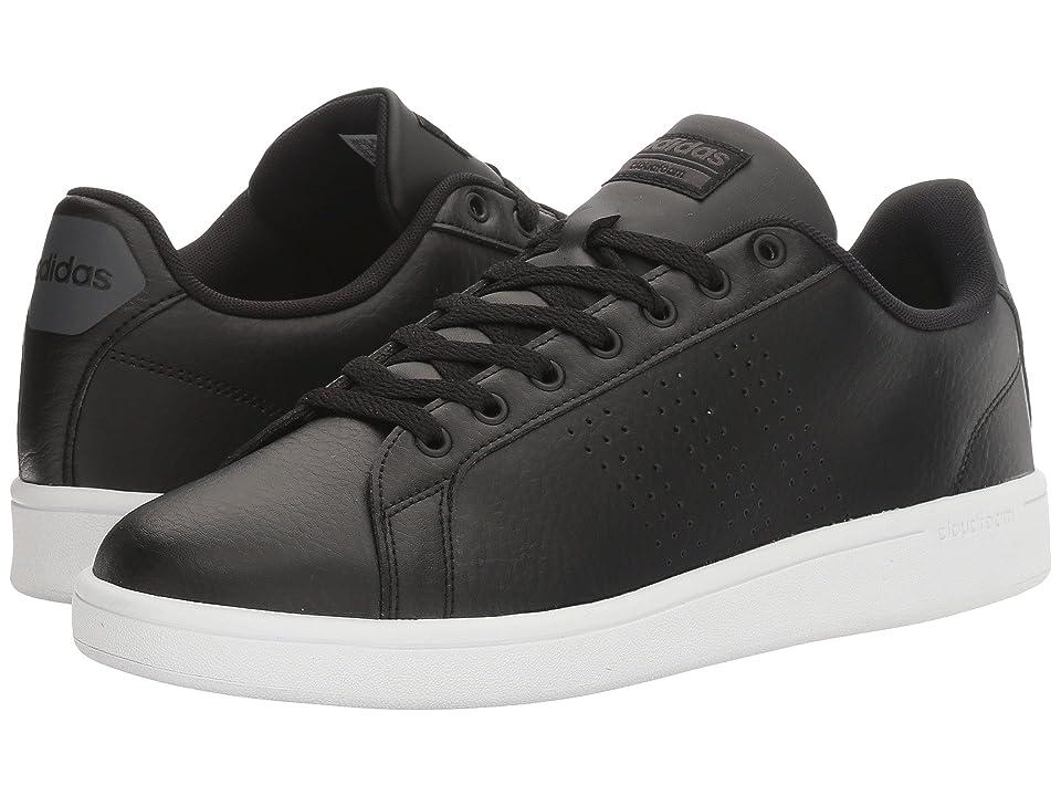 adidas Cloudfoam Advantage Clean (Core Black/White) Men
