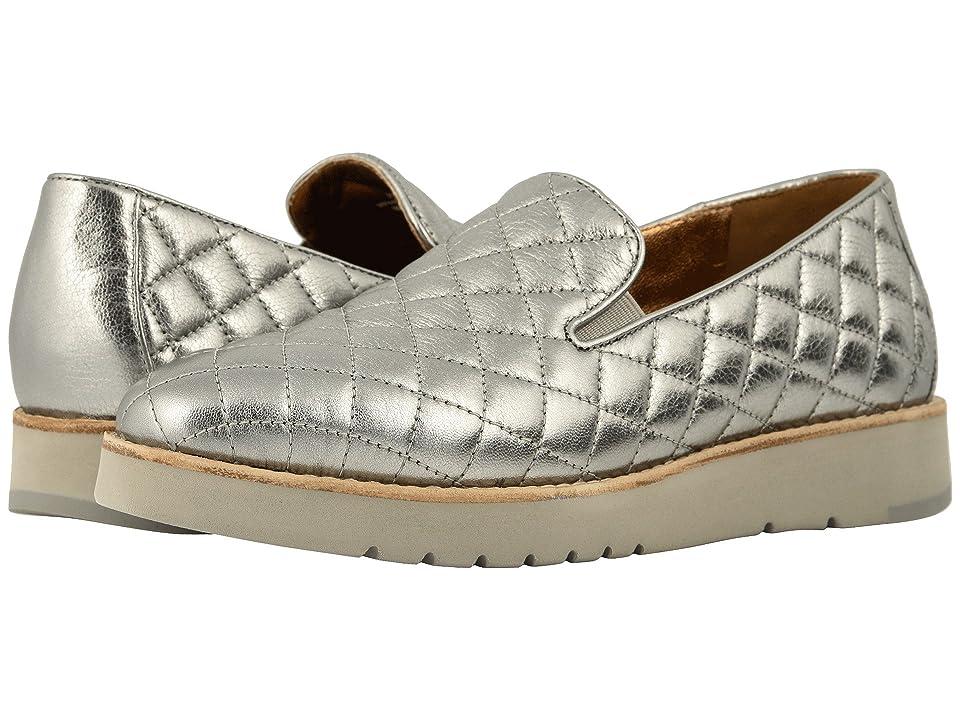 Johnston & Murphy Portia (Pewter Italian Metallic Glove Leather) Women
