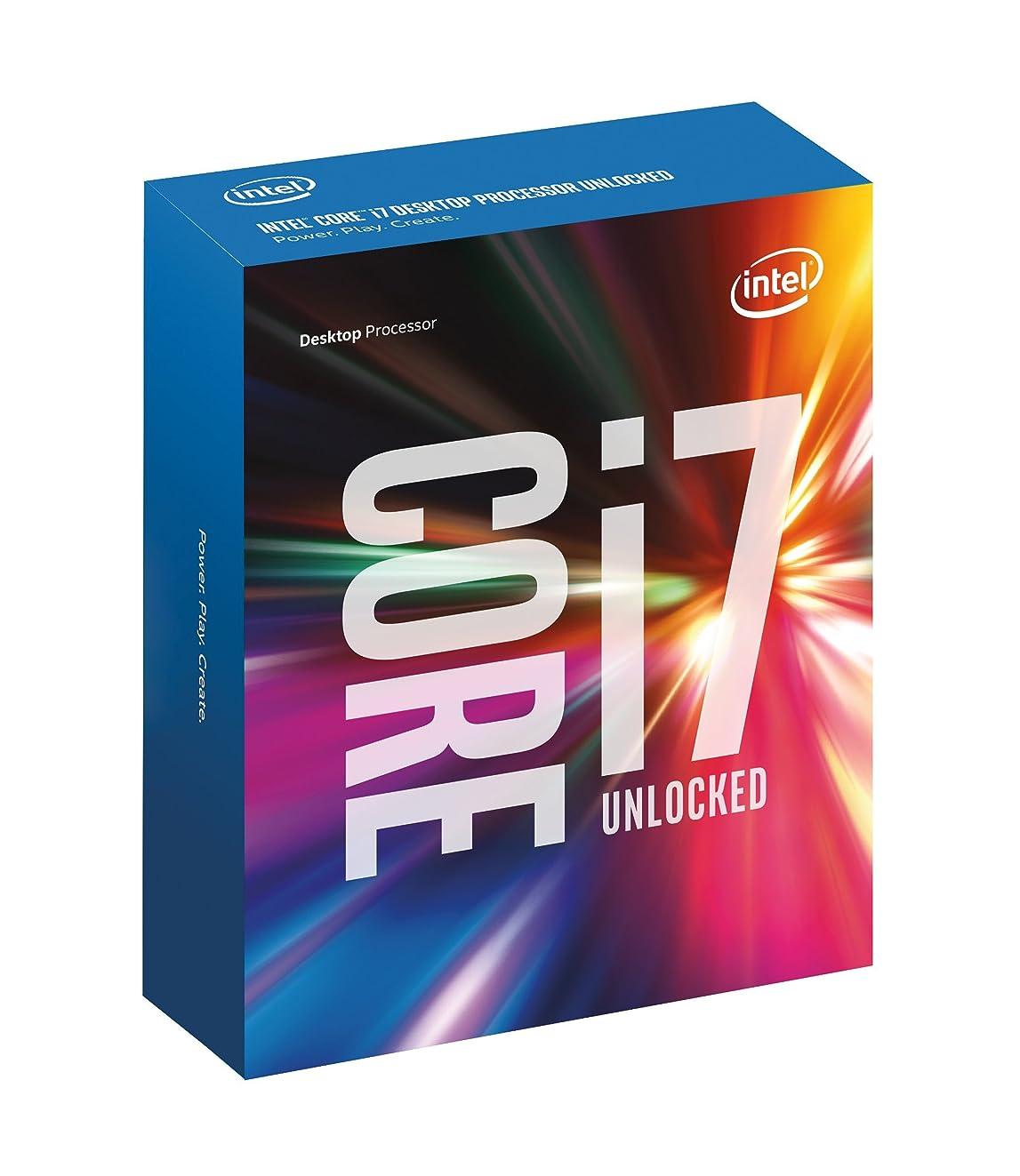 Intel Core i7 6700K 4.00 GHz Unlocked Quad Core Skylake Desktop Processor, Socket LGA 1151 [BX80662I76700K]