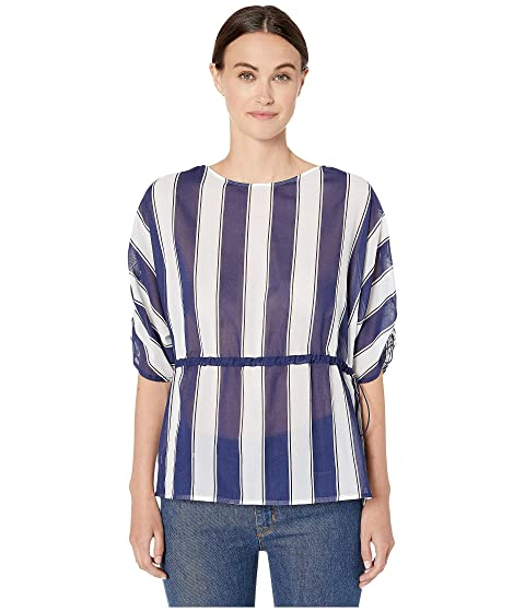 Sportmax Astoria Cotton Striped Blouse