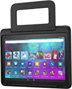 Amazon Kid-Friendly Case for Fire HD 10 tablet (Only compatible with 11th generation tablet, 2021 release), Black