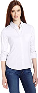 Lee Uniforms Juniors' Long-Sleeve Oxford Blouse