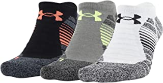 Adult Elevated Performance No Show Socks, 3-Pairs , Halo...
