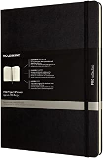 Moleskine Professional Project Planner, Extra Large, Hard Cover (7.5 X 9.75)