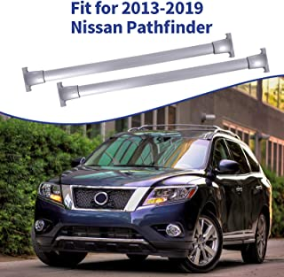 Sponsored Ad - Ai CAR FUN Roof Rack Cross Bars Compatible for Nissan Pathfinder 2013-2020, Aluminum Cargo Carrier Rooftop ...