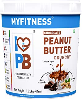 MYFITNESS Chocolate Peanut Butter Crunchy 1250g