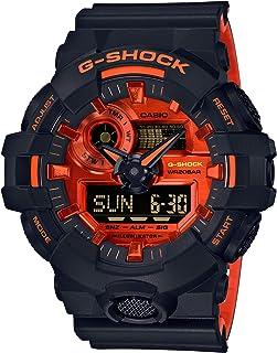 [カシオ] 腕時計 ジーショック ブライトオレンジカラー GA-700BR-1AJF メンズ ブラック