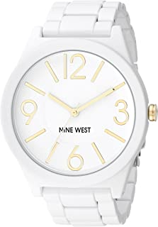 Women's NW/1678WTWT Matte White Rubberized Bracelet Watch