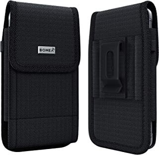 Bomea Galaxy S20 Belt Case Galaxy J7 Holster Rugged Cell Phone Holster w/Belt Clip Belt Loop Carrying Pouch Belt Holder Co...