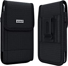 BOMEA Rugged Holster Designed for iPhone SE (2020), iPhone 8,7,6S,6 – Heavy Duty Nylon..