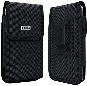 PiTau iPhone 11 Pro Max / Xs Max Holster- Rugged Nylon Belt Case with Belt Clip Phone Carrying Pouch Holder Belt Hols...