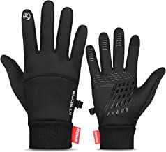 TOLEMI Winter Gloves Touchscreen Thermal Gloves Windproof Warm Gloves Men Women for Cycling Driving Running