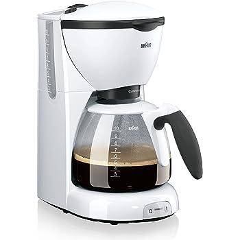 Braun KF 520/1 - Cafetera de espresso manual, color blanco: Amazon.es: Hogar