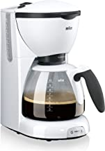 Braun KF520/1 koffiezetapparaat, Wit