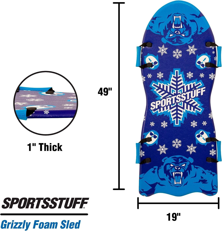 SportsStuff Grizzly Foam Sled