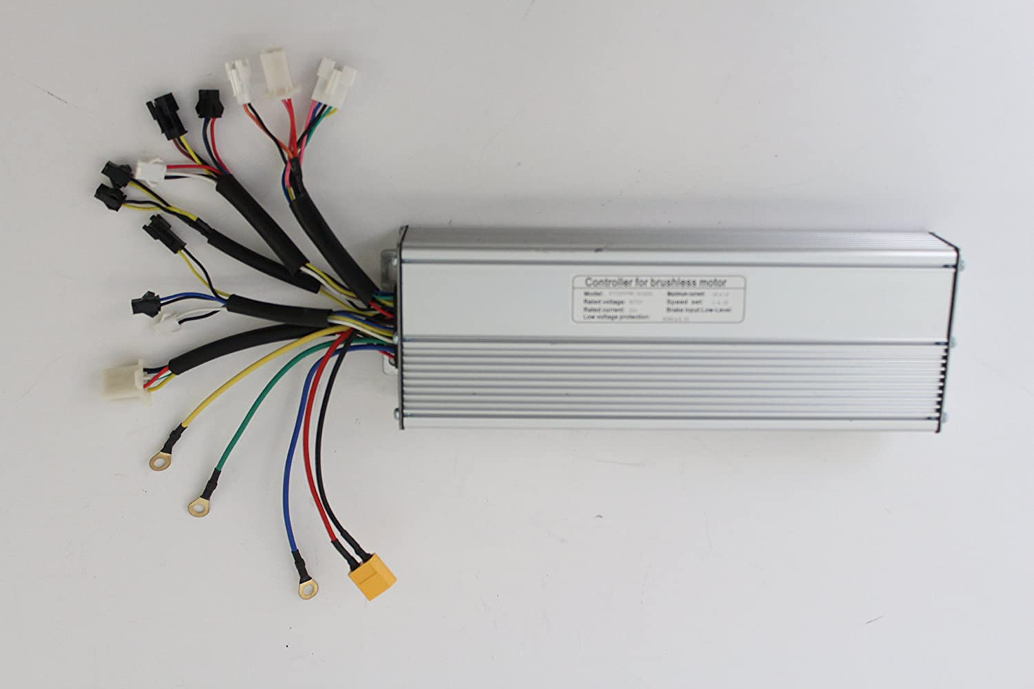 HalloMotor Silver 48V 1500W 45A High material Brushless Ranking TOP11 Wave DC Sine Controlle