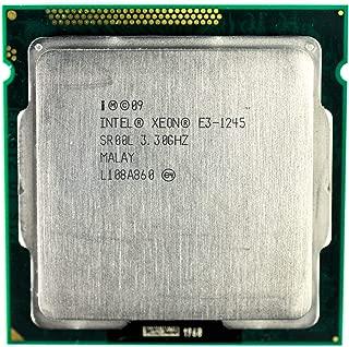 Intel Xeon E3-1245 SR00L 3.3Ghz Quad Core 8MB Cache CPU (Renewed)