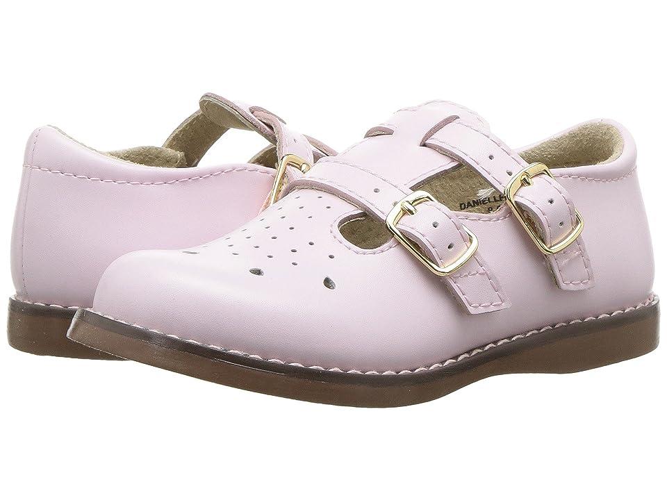 FootMates Danielle 3 (Infant/Toddler/Little Kid) (Rose) Girls Shoes