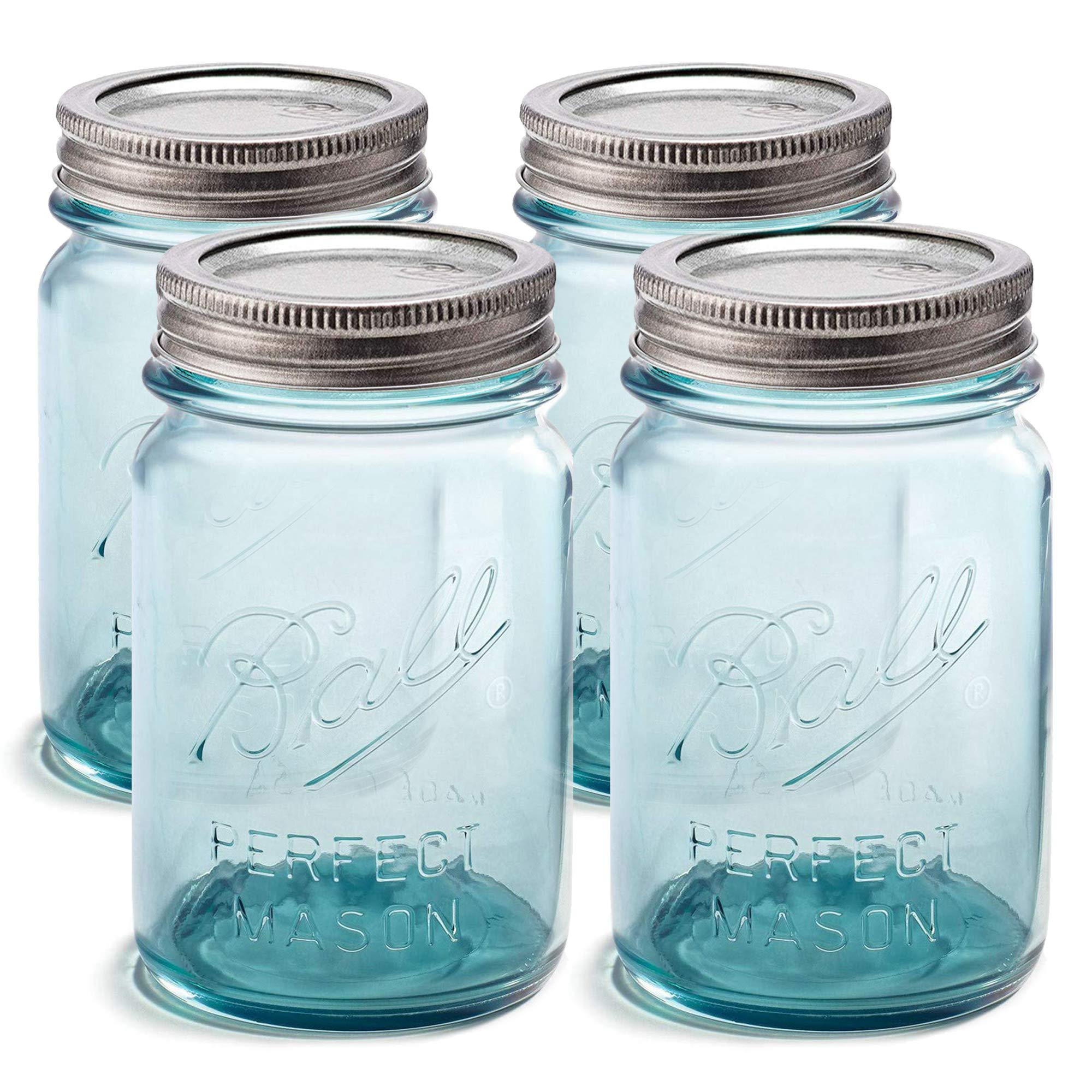 For canning Ball Wide Mouth Mason Jars 8 oz Microwave /& Dishwasher Safe Freezing Preserving SEWANTA Jar Opener With Wide Mouth Lids and Bands Pickling Set of 6 Canning Jelly Jars Fermenting
