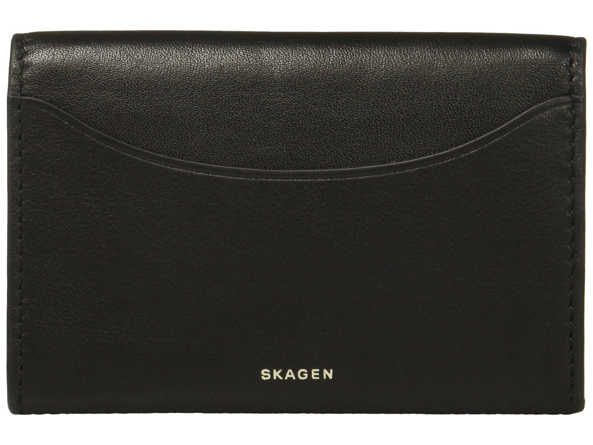 Monedero para Mujer Skagen Flap Card Case  + Skagen en VeoyCompro.net