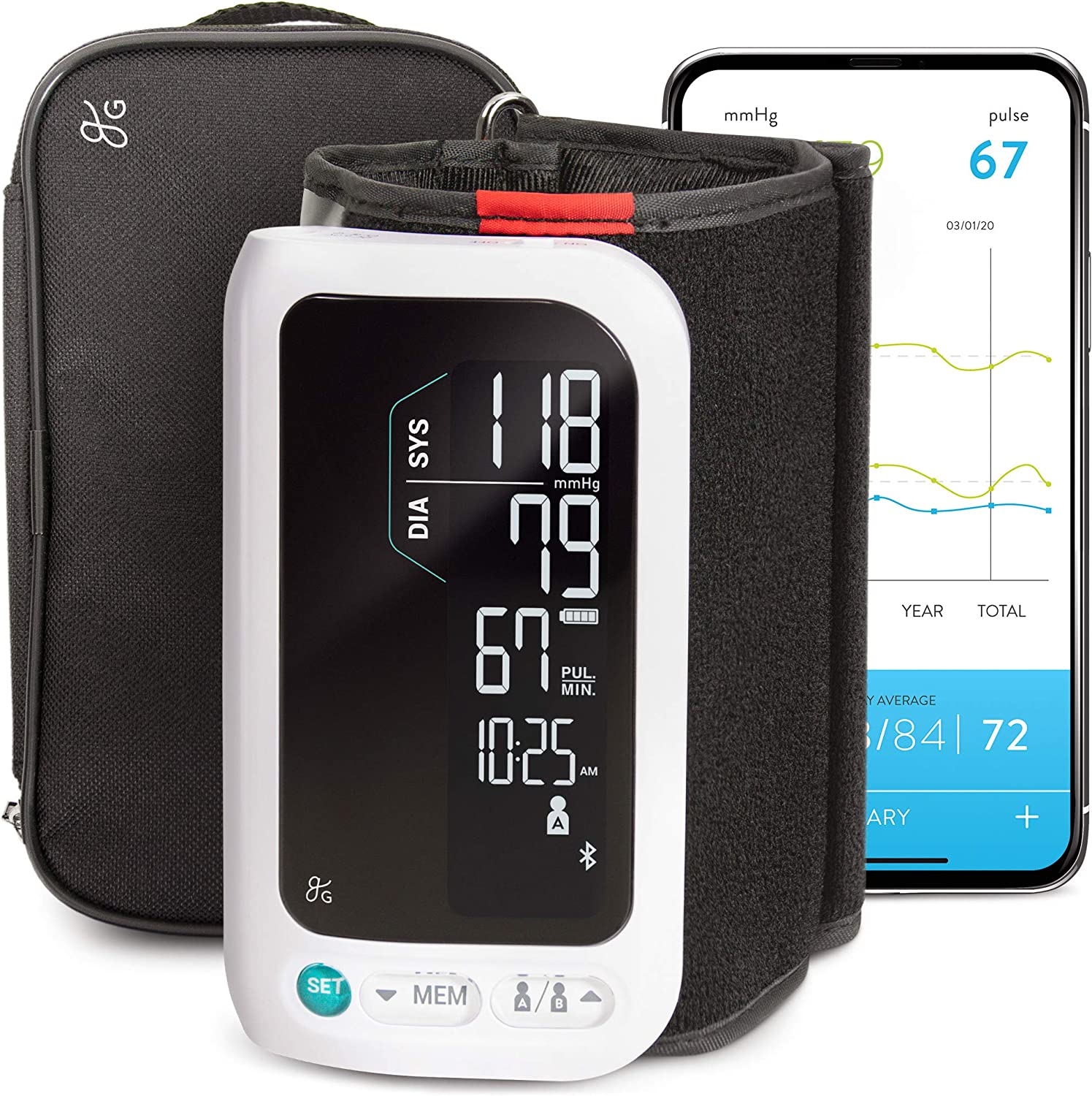 All-in-One Smart Blood Pressure Monitor Pack