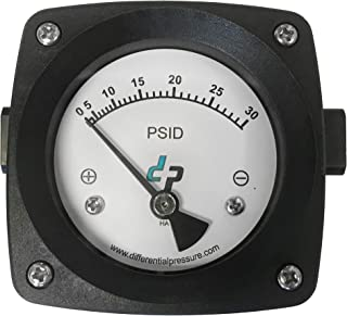 30 PSI Standard Differential Pressure Gauge for Filter Status and Pump Monitoring