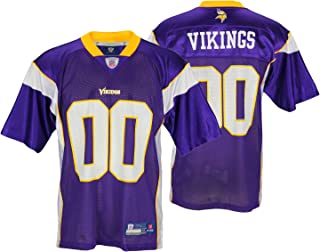 Minnesota Vikings NFL Mens Team Replica Jersey, Purple