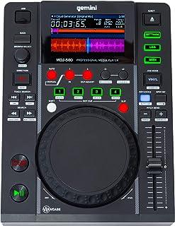 Gemini MDJ-500 - Reproductor de CD (Ranura para MP3, USB)