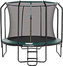 SONGMICS 10 ft Trampoline, ronde tuintrampoline met veiligheidsnet, ladder, gewatteerde palen, voor kinderen en volwassene...