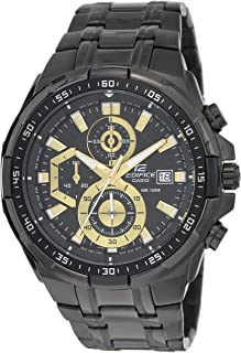 e3c161cbb60c Casio Edifice Stopwatch Men s Chronograph EFR-539BK-1AVUDF (EX187)