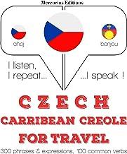 Czech - Carribean Creole. For travel: I listen, I repeat, I speak