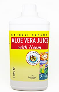 The House of Mistry Natural Organic Aloe Vera Juice with Neem