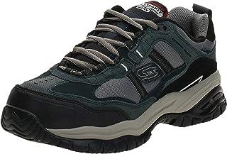 حذاء مريح للعمل ومقاوم للانزلاق بمقدمة فولاذية غرينل للرجال من سكيتشرز