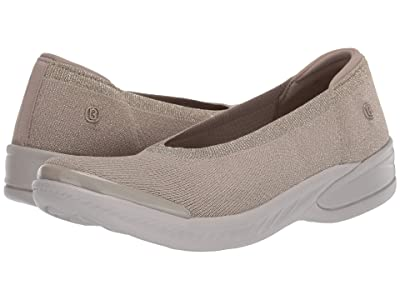 Bzees Nutmeg (Simply Taupe Metallic Knit) Women