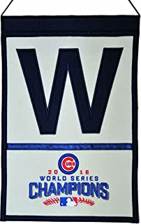 Winning Streak Chicago Cubs 2016 World Series Champions Wool Banner