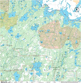 bwca topographic maps