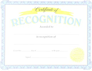 TREND enterprises, Inc. Certificate of Recognition Classic Certificates, 30 ct