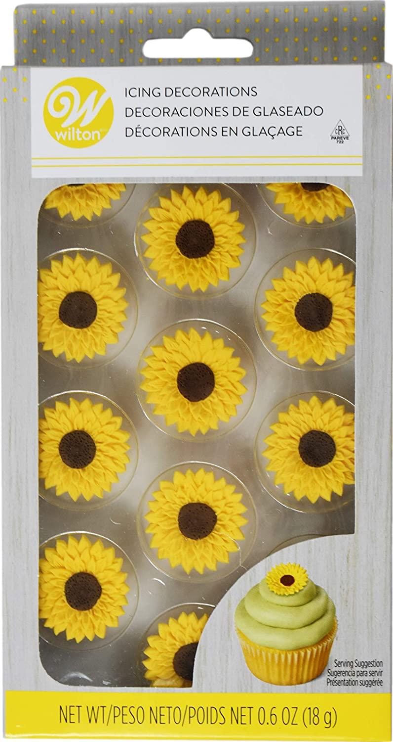 Max 90% OFF Wilton Sunflower Max 50% OFF Decorations Icing