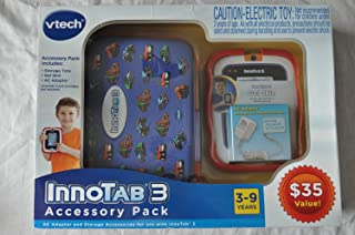 VTech Innotab 3 Learning System Accessory Bundle Pack-Blue