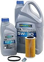 Blau J1A5089-D Motor Oil Change Kit - Compatible with 2005-10 VW Jetta V w/ 5 Cylinder 2.5L Engine - 5w30