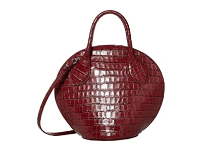 Rebecca Minkoff Pippa Mini Dome Satchel (Pinot Noir) Handbags