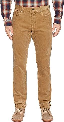 Heizer Five-Pocket Courduroy Pants