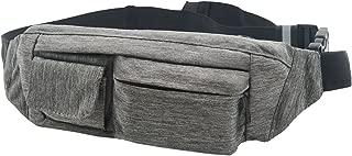 SoJourner 2-Pocket Bum Bag Hip Bag Waist Pack One Size Gray